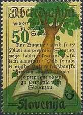Timbre Slovénie 309 ** année 2000 lot 19168