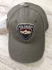 Colorado Gray Souvenir Resort Wear Baseball Cap Hat
