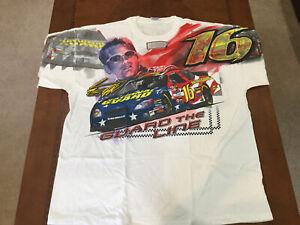 2005 Vintage NASCAR Greg Biffle National Guard Racing Total Print Shirt NWT XXL