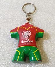 Old Keychain Porte-Clés ✱ PORTUGAL UEFA EURO 2004 CUP ✱ Football Soccer RARE