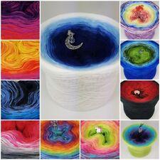 ♥ Farbverlaufsgarn 200g - freie Wahl - 4fädig Bobbel, Wolle, Garn, häkeln