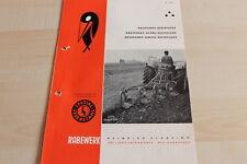 144530) Rabewerk Dreipunkt Beetpflüge Prospekt 05/1964