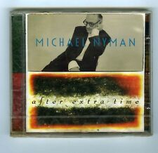CD (NEW) MICHAEL NYMAN AFTER EXTRA TIME