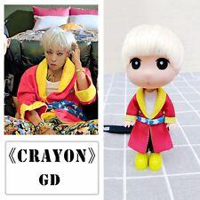 KPOP Bigbang GD Doll Who You Crayon G-Dragon Figure Toy Handmade Gift 13cm