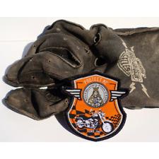 PROTECT ME - BIKER PATCH SHIELD ORANGE