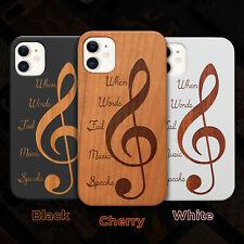 Clef 2 Wood Case iPhone 13/12/11/11 Pro/Max/Mini, X/XR/XS Max
