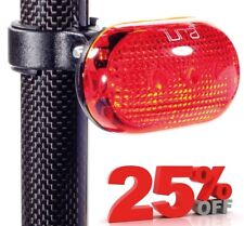 NEW TURA MUMBLES CYCLE REAR SAFETY LIGHT - 5 x LEDs - MTB MOUNTAIN BIKE BICYCLE
