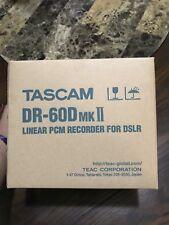Tascam DR-60D MKII LINEAR PCM RECORDER FOR DSLR