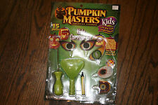 New Pumpkin Masters Kids Carving Kit for Pumpkins 15 Pieces Easy Grip Tools