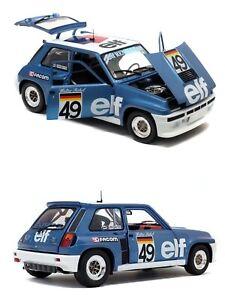 1/18 solido renault 5 turbo european cup walter rohrl 1981 livraison domicile