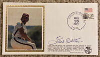 STEVE CARLTON Signed Autographed Baseball Cachet Envelope 1983 Phillies