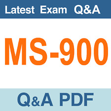 MS-900 Real Exam Questions & Answers - PDF