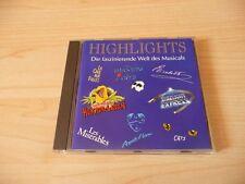 CD Musicals Highlights: Elisabeth Starlight Express Les Miserables Cats Phantom