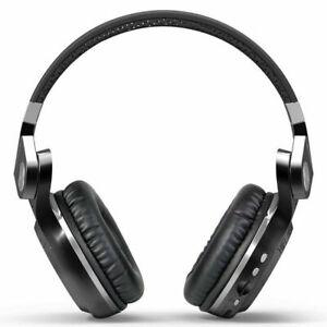 Bluedio Turbine t2s Bluetooth 5.0 Kopfhörer Kabellos mit Mikrofon Stereo Headset UK