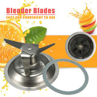 Cross Blender Blade Parts w/Sealing Gasket Ring For Blender Replacement
