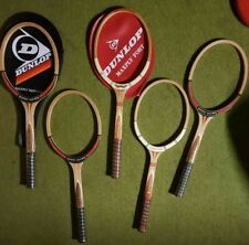 Dunlop Maxply Fort/Mcenroe Tennis racket NOS vintage wooden rackets