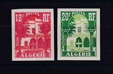 ALGERIE N° 340A/41 Neuf ** MNH NON DENTELE / Imperf