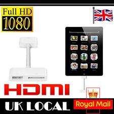 Digital AV HDMI Adapter to HDTV for Apple iPad 2 iPhone 4S 4G iPod Touch New UK