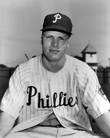Philadelphia Phillies RICHIE ASHBURN Glossy 8x10 Photo Baseball Portrait Poster