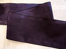 """3"""" RAYON MOIRE' RIBBON - MADE IN GERMANY - PURPLE / GRAPE"""
