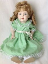 JDK Kestner All Porcelain Doll Germany Bisque Toddler 237 Repro Open Mouth 20""