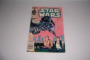 STAR WARS #93 MARCH 1985 MARVEL COMIC BOOK NICE!