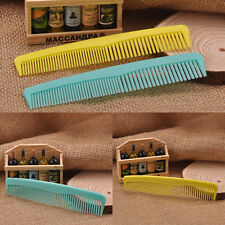10Pcs Unisex Salon Plastic Cutting Hair Comb Barber Hairdressing Pocket Portable