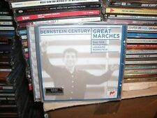 GREAT MARCHES,NEW YORK PHILHARMONIC ,LEONARD BERNSTEIN