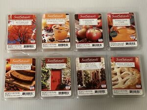 8 Packs (MULTI SCENT PACKS) Scent Sationals, Scented Wax Cubes (#24)