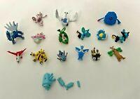 Bundle Job Lot Of 16 x Unbranded Small Pokemon Action Figure Toys - Legendaries
