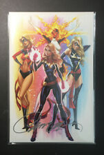 Captain Marvel 1 Exclusive Cover J (CAMPBELL SIGNED) 0416