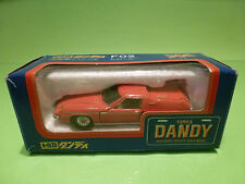 DANDY TOMICA F02 LOTUS EUROPA SPECIAL - RED 1:43 - RARE SELTEN - EXCELLENT - BOX