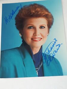 Stephanie A.Edwards Actress & television personality Autographed Photo 8 x 10""