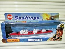 Rare Lesney Matchbox 1975 Sea Kings K-302 C17 Corvette Ship Red Deck NuBxd