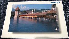 Switzerland Luzern Lapellbrucke mit Wasserturm - posted 2000