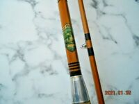 WEIR PRODUCTS SPINNING ROD SPLIT CANE 2PCE 9FT
