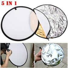 24-Inch 5 in 1 Photography Photo Video Studio Lighting Photographic Reflector US