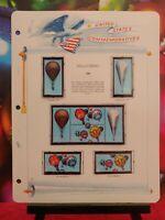 V.600-Scott # 2032-35-1983 BALLOONING-Lot of (8) 20 Cent Stamps