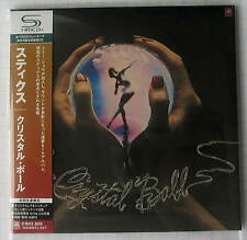 STYX - Crystal Ball JAPAN SHM MINI LP CD OBI NEU RAR! UICY-93920