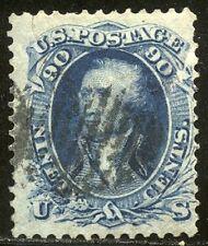 U.S. #72 Used - 90c Blue ($600)