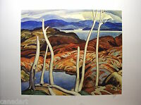 A.J.CASSON group of seven SIGNED NORTH SHORE LE art numbered Platinum edition