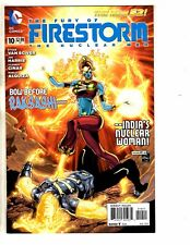 Lot Of 5 Firestorm DC NEW 52 Comic Books # 10 11 12 13 14 Batman Flash J259