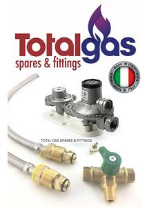Bromic Manual Change Over LPG Gas Regulator Kit 160MJ Twin Bottle-Caravan/Home