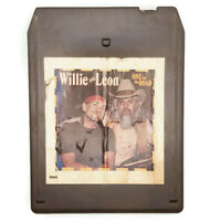Willie Nelson & Leon Russell One For the Road 8 Track Tape Cartridge 1979