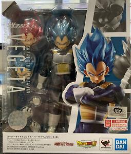 Bandai Vegeta Super Saiyan God Blue Hair S.H.Figuarts Dragon Ball z DBZ SSGSS