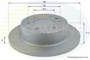 FOR MERCEDES-BENZ SPRINTER 3.5 L COMLINE REAR COATED BRAKE DISCS ADC1639
