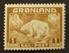 Greenland #9 Mnh.-Vf centering. $14.00+ Cv.