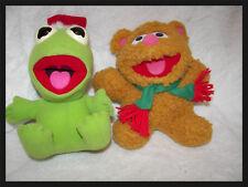 Kermit &  Fozzy BEar  Muppets  Christmas Carol Jim Henson 1987