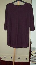 WOMENS LONG TOP SIZE 20/22 LABEL CISO