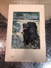 Tom : Litho  Gaston Larrieu , Tirage papier japon 96/190 Signé Crayon